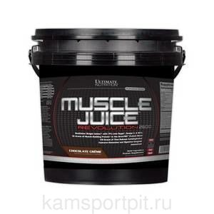 Muscle Juice Revolution 2600  5040гр  (Ultimate Nutrition)