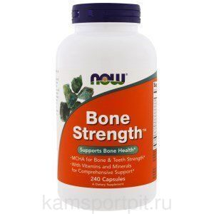 Bone Strength, 240 капсул  (Now Foods)
