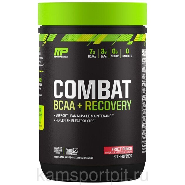 Combat BCAA + Recovery 30порц (MusclePharm)