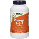 OMEGA 3-6-9 250 капсул (Now Foods)