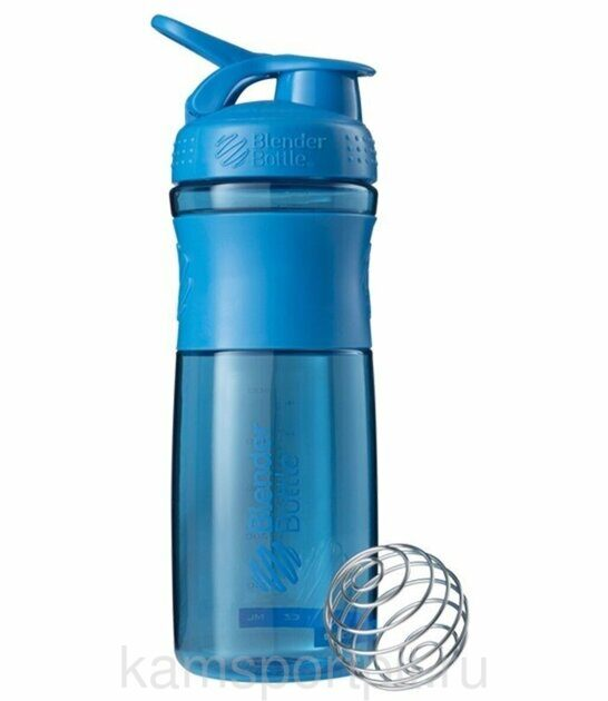SportMixer Blender Bottle 828 мл голубой