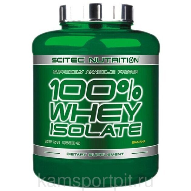 100% Whey Isolate 2000 г (Scitec Nutrition)