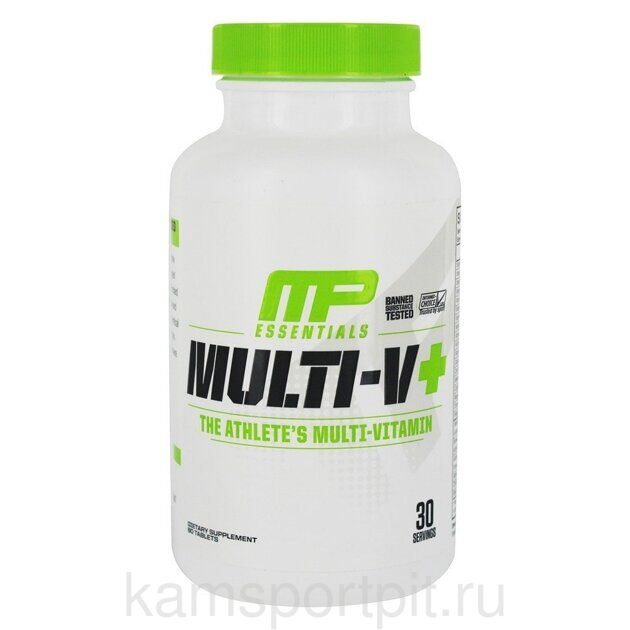 Essentials Multi-V 60таб. (MusclePharm)