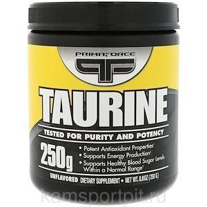 Taurine 250g 200serv (Primaforce)