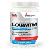 L-CARNITINE 90 капсул 500 мг  (WESTPHARM)