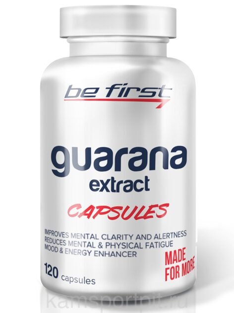 GUARANA EXTRACT 120 капсул (BE FIRST)