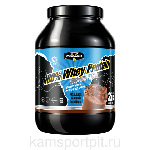 100% Whey protein ultrafiltration 908 гр.  (MAXLER)