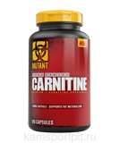 CARNITINE 750 мг  120 капсул (MUTANT)
