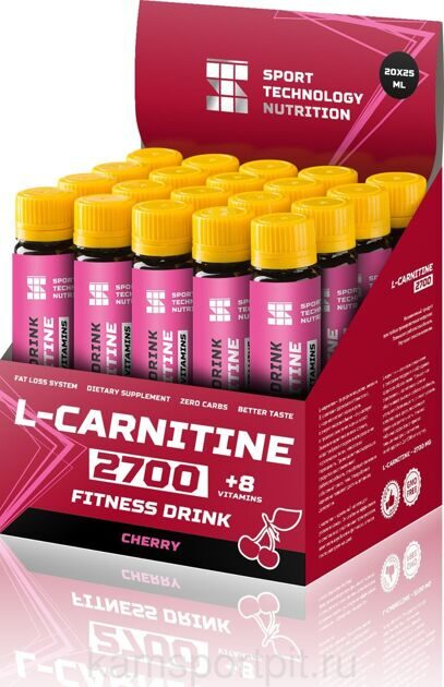 L-CARNITINE 2700 20x25 (SPORT TECHNOLOGY NUTRITION)