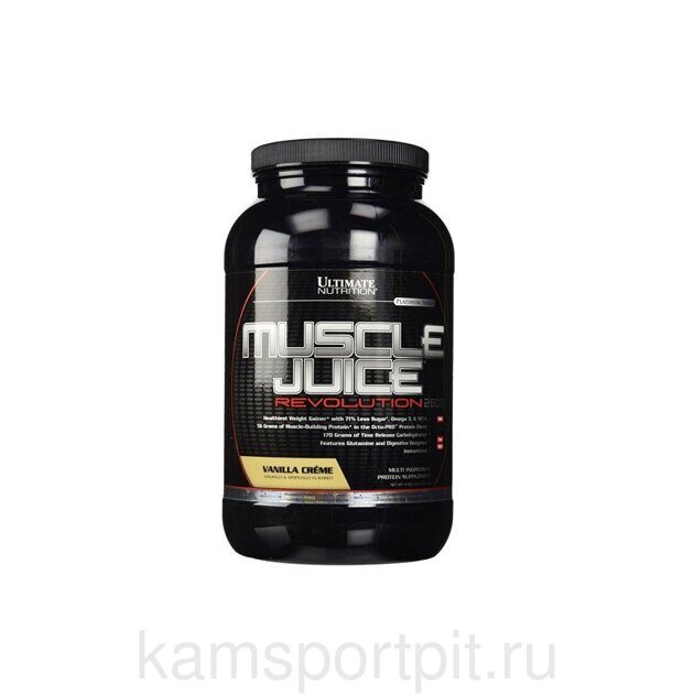 MUSCLE JUICE REVOLUTION 2600 2.12KG (ULTIMATE NUTRITION)