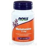 MELATONIN 3 мг 60 капсул (NOW)
