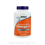 Omega-3  180 капсул (Now Foods)