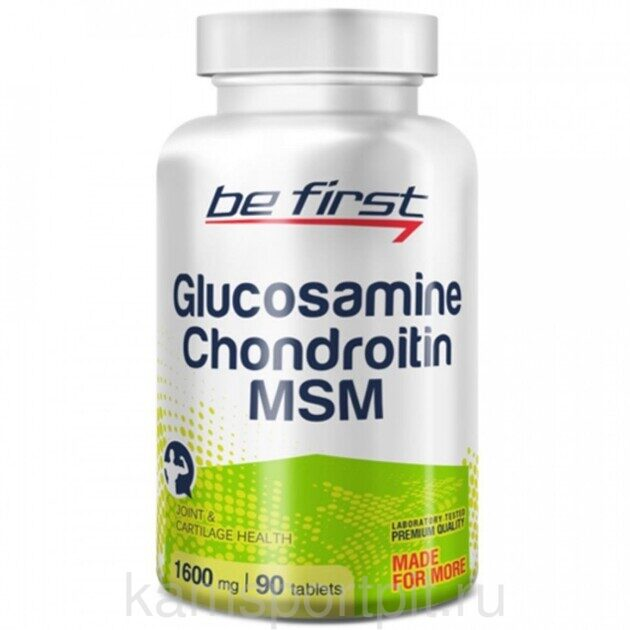 Glucosamine Chondroitin MSM 90таб. (BE FIRST)